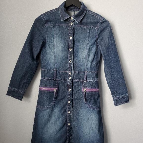3 for $18 Children's Place Denim Long Sleeve Dress